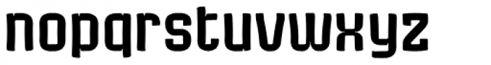 Bladi Two Cond Comic 4F Font LOWERCASE