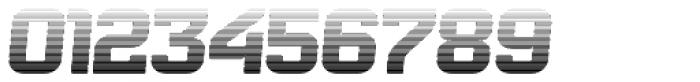 Bladi Two Gradient 4F Bold Italic Font OTHER CHARS