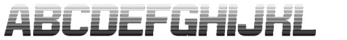 Bladi Two Gradient 4F Bold Italic Font UPPERCASE