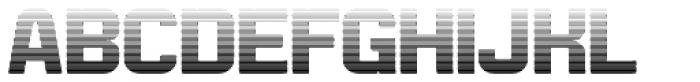 Bladi Two Gradient 4F Bold Font UPPERCASE