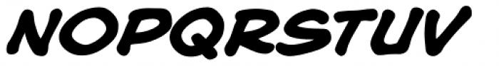 Blah Blah Upper Bold Italic Font UPPERCASE