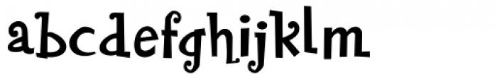Blairesque Festive JF Font LOWERCASE