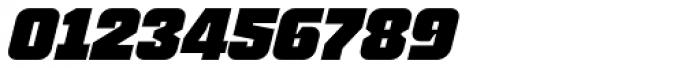 Blak Slanted Font OTHER CHARS
