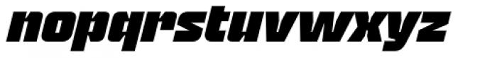 Blak Slanted Font LOWERCASE