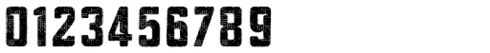 Blakstone Halftone One Font OTHER CHARS