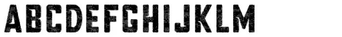 Blakstone Halftone One Font UPPERCASE