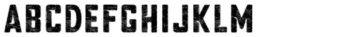 Blakstone Halftone One Font LOWERCASE