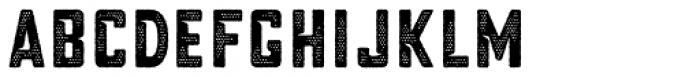 Blakstone Halftone Three Font LOWERCASE