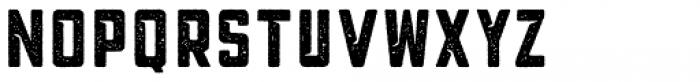 Blakstone Printed One Font LOWERCASE