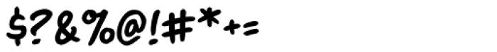 Blambastic BB Font OTHER CHARS