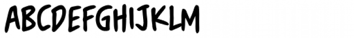 Blambastic BB Font UPPERCASE