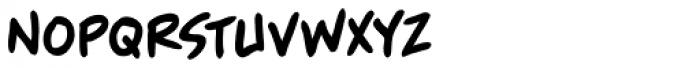 Blambastic BB Font LOWERCASE