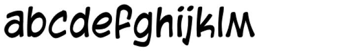 Blambot Casual Font LOWERCASE
