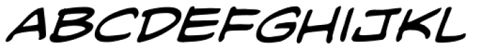 Blambot Classic BB Italic Font LOWERCASE