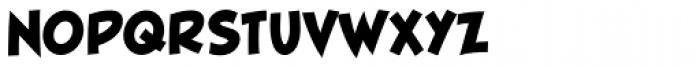 Blambot FXPro BB Heavy Font UPPERCASE