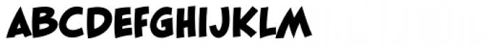 Blambot FXPro BB Heavy Font LOWERCASE