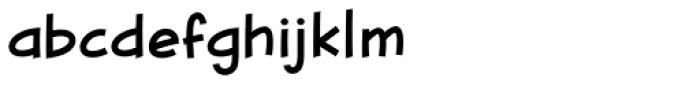Blambot FXPro BB Light Font LOWERCASE