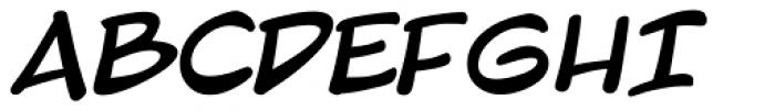 Blambot Pro Lite Bold Font UPPERCASE