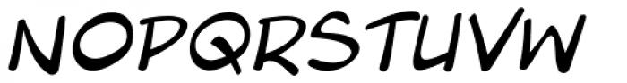 Blambot Pro Lite Italic Font UPPERCASE