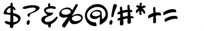 Blambot Pro Lite Font OTHER CHARS
