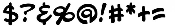 Blambot Pro Font OTHER CHARS