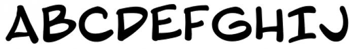 Blambot Pro Font UPPERCASE