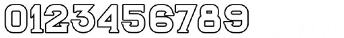 Blame Outline Serif Regular Font OTHER CHARS
