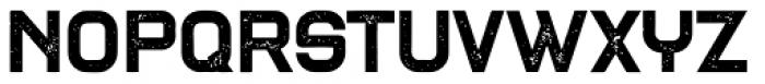 Blame Rough Regular Font UPPERCASE