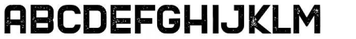 Blame Rough Regular Font LOWERCASE