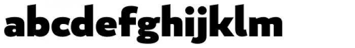 Blanc Black Font LOWERCASE