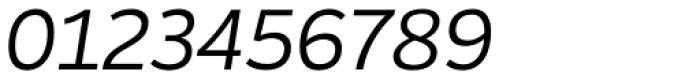 Blanc Light Italic Font OTHER CHARS