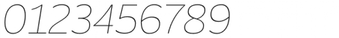 Blanc Thin Italic Font OTHER CHARS