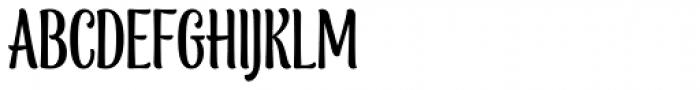 Blancmange Font UPPERCASE