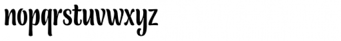Blancmange Font LOWERCASE
