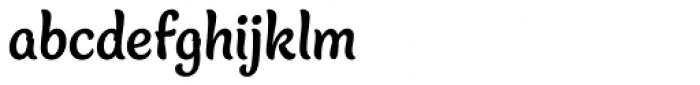 Blanket Bold Font LOWERCASE