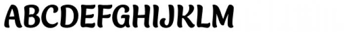 Blanket Heavy Font UPPERCASE