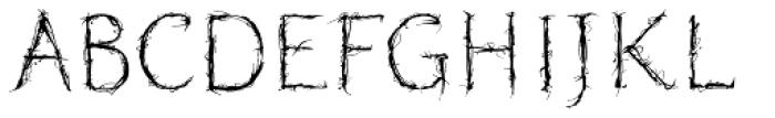 Blasphemy Initials Font LOWERCASE