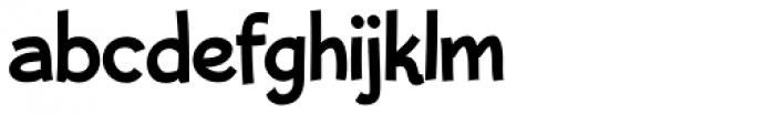 Bleeker Font LOWERCASE