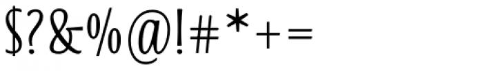 Blend Bold Font OTHER CHARS