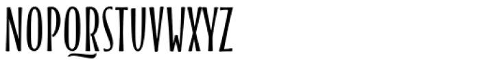 Blend Caps Condensed Bold Font UPPERCASE