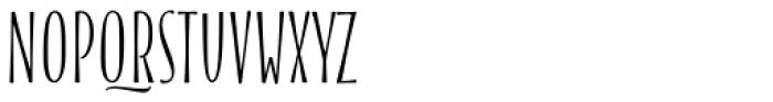 Blend Caps Condensed Font UPPERCASE