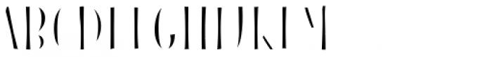 Blend Caps Inline Fill Bold Font UPPERCASE