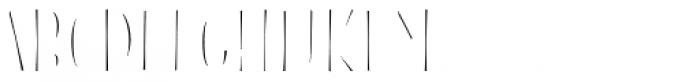 Blend Caps Inline Fill Font UPPERCASE