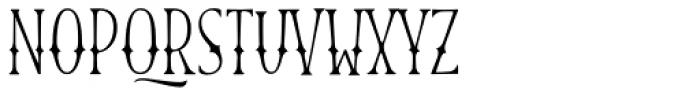 Blend Caps Western Font UPPERCASE