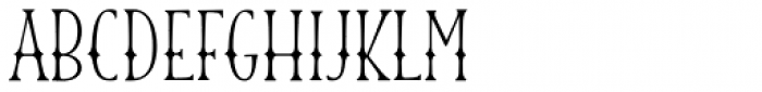 Blend Caps Western Font LOWERCASE