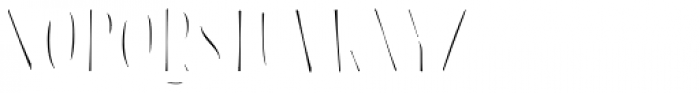 Blend Inline Fill Font UPPERCASE