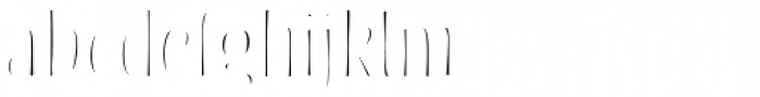 Blend Inline Fill Font LOWERCASE