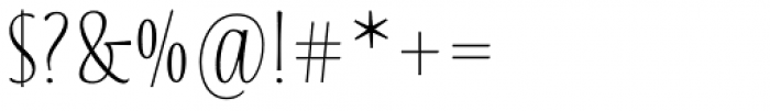Blend Font OTHER CHARS