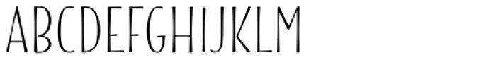 Blend Font UPPERCASE