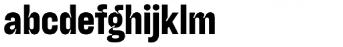 Blimone Extra Bold Inktrap Font LOWERCASE